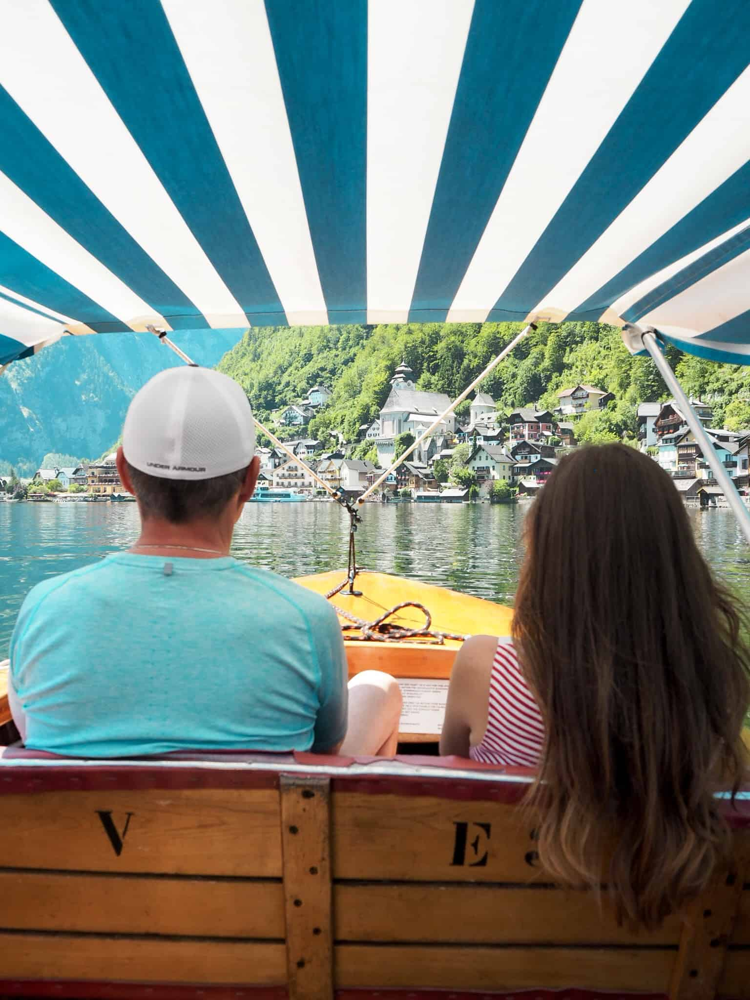 Halštatské jezero - loďka