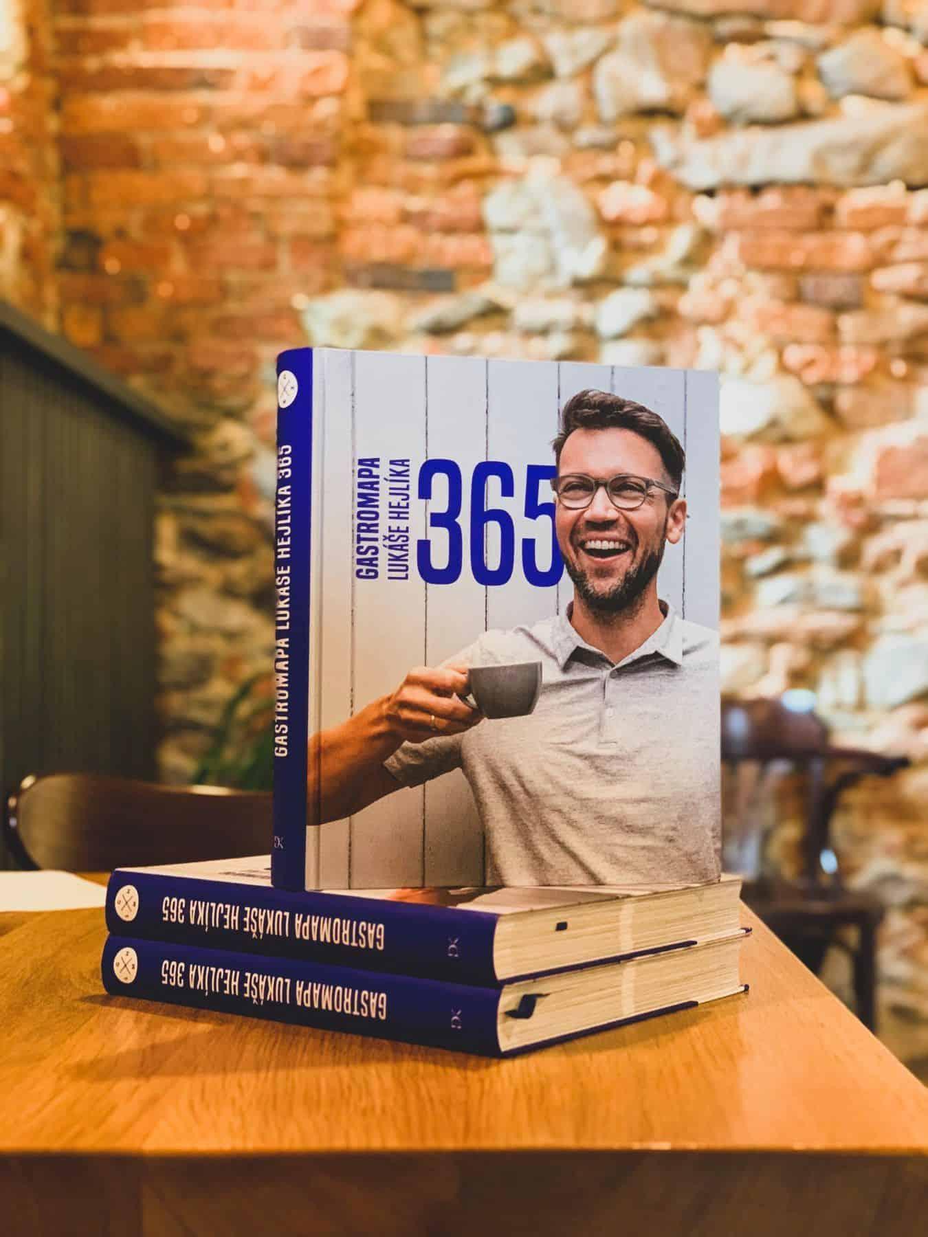 Gastromapa kniha - Lukáš Hejlík