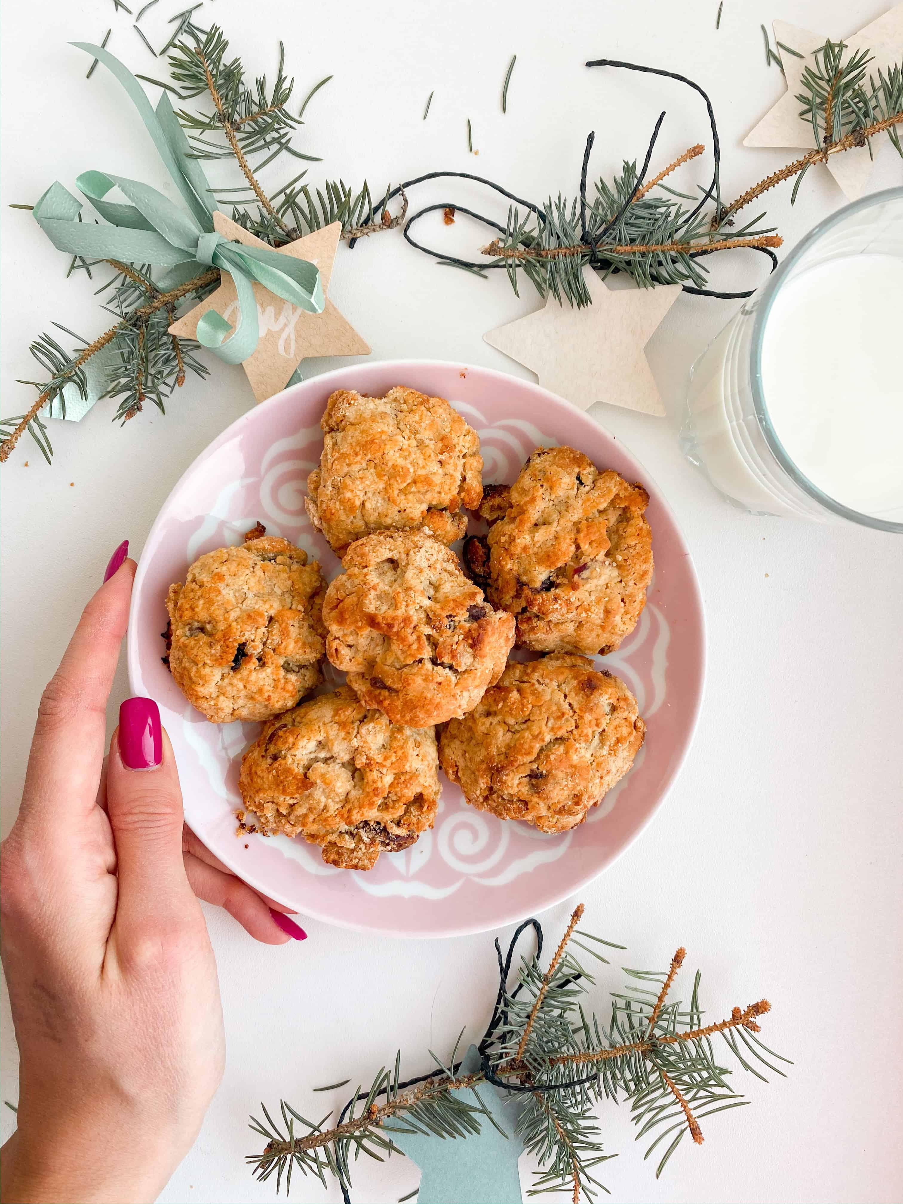 zdravé domácí sušenky - recept