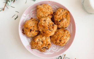 zdravé sušenky recept